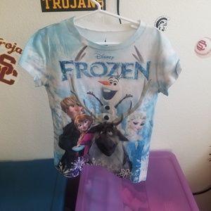Disney frozen shirt